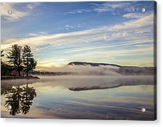 Misty Morning Acrylic Print by Mark Papke