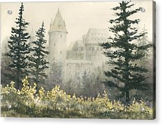 Misty Morning Acrylic Print by Sam Sidders