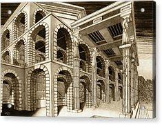 Mithlond Gray Havens Acrylic Print by Curtiss Shaffer