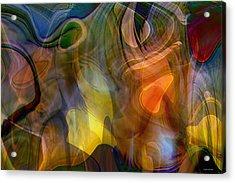 Mixed Emotions Acrylic Print by Linda Sannuti