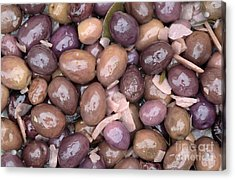 Mixed Olives Acrylic Print by Neil Overy