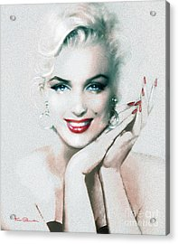 Mm 133  Acrylic Print by Theo Danella
