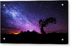 Moab Skies Acrylic Print by Chad Dutson