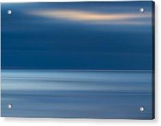 M'ocean 10 Acrylic Print by Peter Tellone