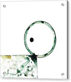 Modern Art - Balancing Act 2 - Sharon Cummings Acrylic Print by Sharon Cummings
