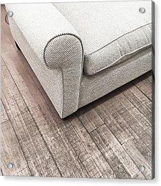 Modern Sofa Acrylic Print by Tom Gowanlock