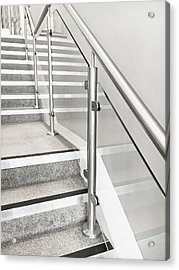 Modern Staircase Acrylic Print by Tom Gowanlock