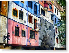 Modern Vienna Impression I Acrylic Print by George Oze
