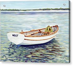 Molly Acrylic Print by Danielle  Perry