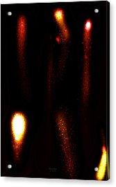 Molten Flow Acrylic Print by Scott  Bricker