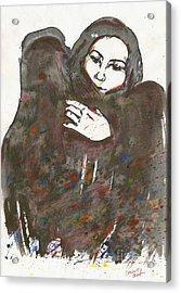 Warm Embrace. 24 March, 2015 Acrylic Print by Tatiana Chernyavskaya
