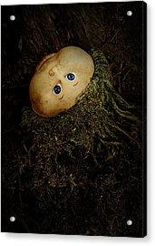 Mon Petit Chou Acrylic Print by Rebecca Sherman