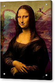 Monalisa The Fairy Acrylic Print by Tray Mead