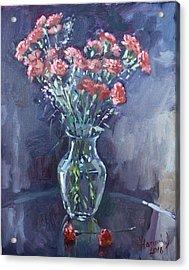 Monda's Bouqet For Viola Acrylic Print by Ylli Haruni