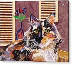 Monet Acrylic Print by Bob Coonts