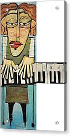 Monsieur Keys Acrylic Print by Tim Nyberg