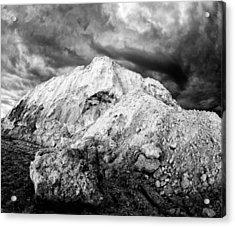 Monster Rock Acrylic Print by Stephen Mack