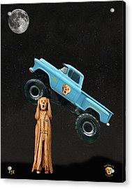 Monster Truck The Scream World Tour  Acrylic Print by Eric Kempson