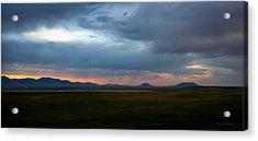 Montana Sky 3 Acrylic Print by Susan Kinney