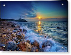 Montauk Sunrise Acrylic Print by Rick Berk