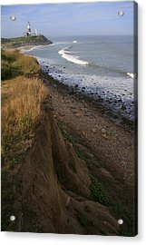 Montauk Surf And Turf Acrylic Print by Christopher Kirby