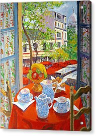 Montmartre Acrylic Print by William Ireland