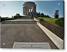 Acrylic Print featuring the photograph Montsec American Monument by Travel Pics