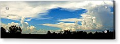 Monuments In The Sky Acrylic Print by James Granberry