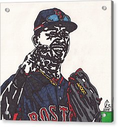 Mookie Betts 2 Acrylic Print by Jeremiah Colley