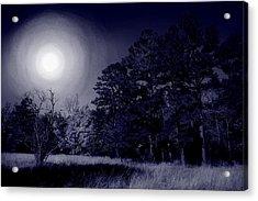 Moon And Dreams Acrylic Print by Nina Fosdick