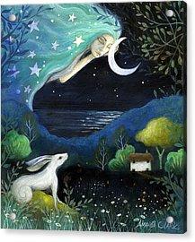 Moon Dream Acrylic Print by Amanda Clark