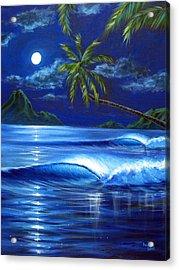 Moonlit Serenade Acrylic Print by Patrick Parker
