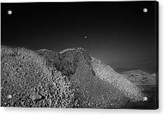Moonrise Pembroke Pines Acrylic Print by Stephen Mack
