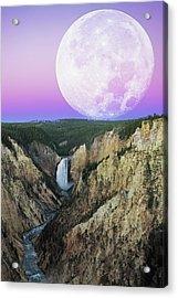 My Purple Dream Acrylic Print by Edgars Erglis