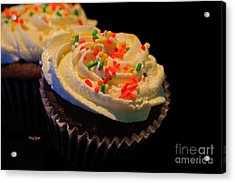 More Cupcakes Acrylic Print by Cheryl Young