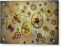 More Gears Acrylic Print by Garry Gay