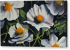 More Poppies Acrylic Print by Robert Carver