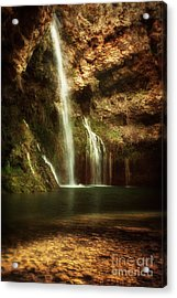Morning Light At Dripping Springs II Acrylic Print by Tamyra Ayles