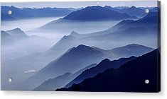 Morning Mist Acrylic Print by Chad Dutson