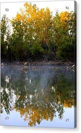 Morning Reflections Acrylic Print by Jennifer  Lane