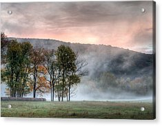 Morning Serenity Acrylic Print by James Barber
