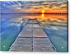 Morning Sky Acrylic Print by Scott Mahon