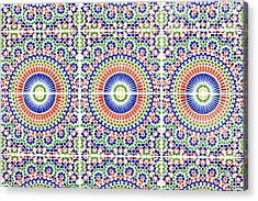 Moroccan Tiles Acrylic Print by Tom Gowanlock