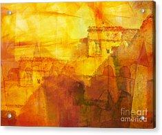 Morocco Impression Acrylic Print by Lutz Baar