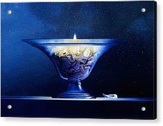 Mortality Acrylic Print by Mark Van crombrugge