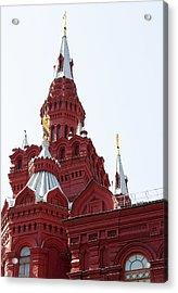 Moscow04 Acrylic Print by Svetlana Sewell