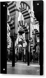 Mosque Cathedral Of Cordoba 4 Acrylic Print by Andrea Mazzocchetti