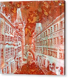 Mostecka Acrylic Print by Yevgenia Watts