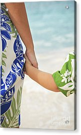 Mother And Son Acrylic Print by Brandon Tabiolo - Printscapes