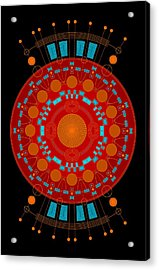 Mother Color Acrylic Print by DB Artist
